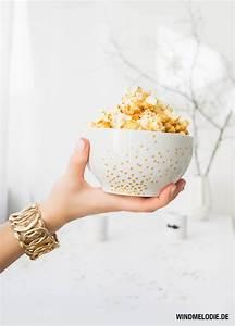 Popcorn Mit Honig : silvester in gold kokos l popcorn ~ Orissabook.com Haus und Dekorationen