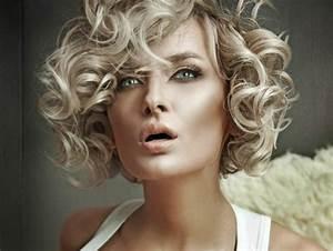 Coiffure Cheveux Courts Bouclés : coupe de cheveux 78 id es pour faire le bon choix ~ Melissatoandfro.com Idées de Décoration