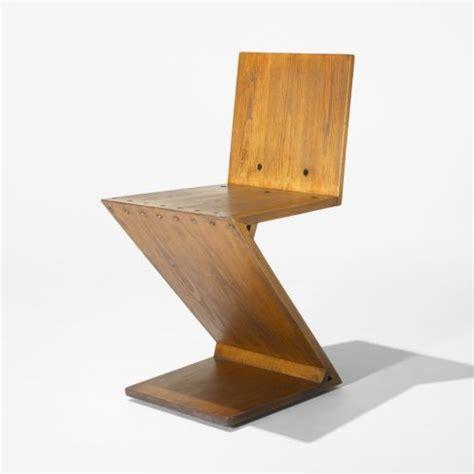 zig zag chair by gerrit rietveld 1932 c 1960 detnk