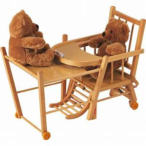 Chaise Haute Bébé Bois : chaise haute b b transformable vernis naturel de combelle ~ Melissatoandfro.com Idées de Décoration