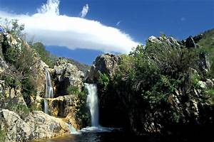 Biodiversity - CapeNature waterfall - CapeNature