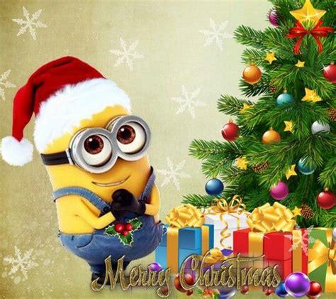 merry christmas    minions pinterest