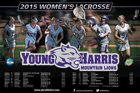young harris womens lacrosse poster young harris