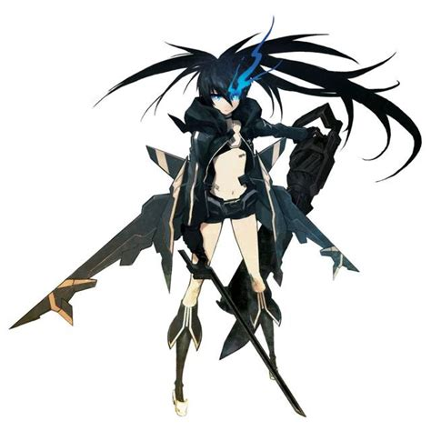 anime game shooter black rock shooter character giant bomb
