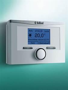 Calormatic Vrt 350 : draadloze modulerende thermostaat calormatic vrt 350 f vaillant ~ Frokenaadalensverden.com Haus und Dekorationen