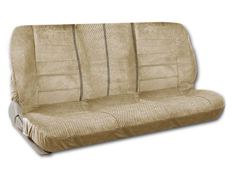 Bench Seat Covers For Cars by Bench Seat Cover Front Row Scottsdale Fabric In Beige For