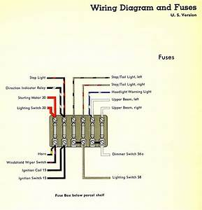 Vw Bus Fuse Diagram