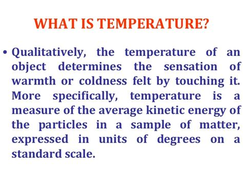 Temperature Measurments