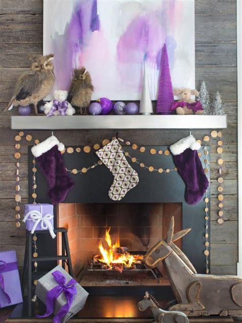 magical christmas mantel decorations  santas grand