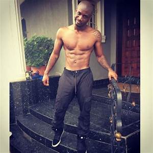 Peter Okoye & Van Vicker Share Shirtless Photos