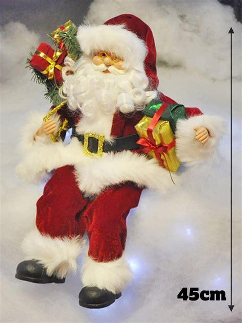 traditional father christmas santa claus ornament xmas