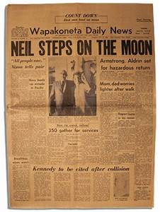 Neil Armstrong Newspaper Article 1969 (page 2) - Pics ...