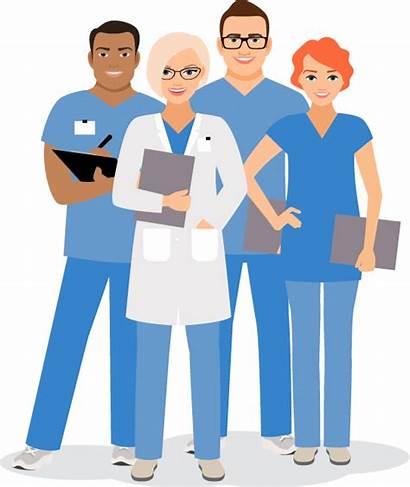 Clipart Services Team Suit Recruitment Nurse Transparent