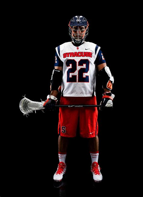 syracuse lacrosse unveils  nike fast break uniform