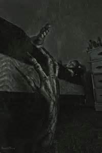 monster monster under the bed hand halloween