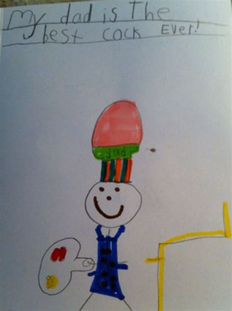 unintentionally inappropriate childrens drawings
