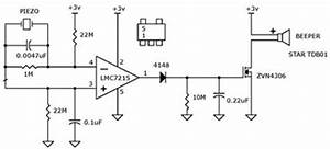 motion alarm sensor using lm7215 zvn4306 electronic With lm555 electronics schematic diagram three stage 8211 cycling timer circuit part 40