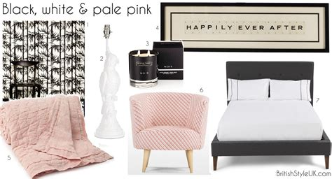 Pale Pink Bedroom by Black White Pale Pink
