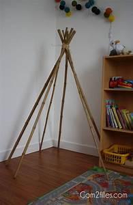 Tipi Pour Enfant : diy mon petit tipi ~ Teatrodelosmanantiales.com Idées de Décoration