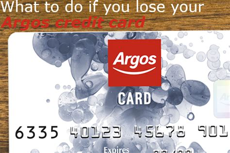 Fri, jul 30, 2021, 4:00pm edt You've lost your Argos card - here's what you need to do