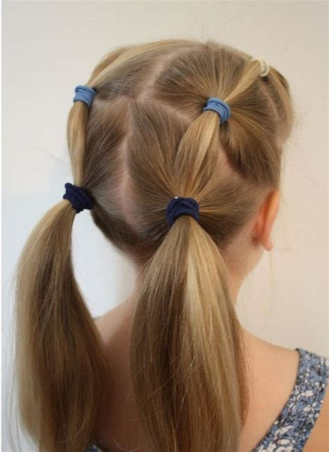 quick easy updos  kids  easy  girl