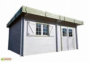 Abri De Jardin Toit Plat : abri de jardin bois 42 mm toit plat bac acier 476x533cm ~ Dailycaller-alerts.com Idées de Décoration