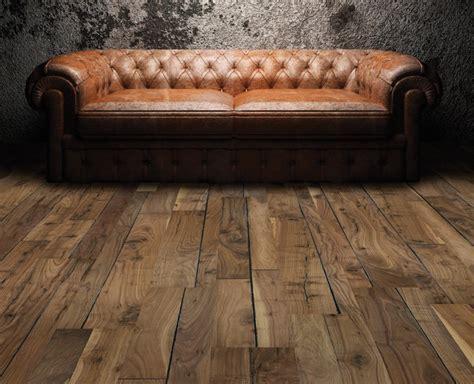 "5/8"" x 7 1/2"" Prefinished Engineered Walnut Historic Hardwood"