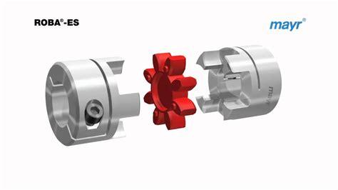 shaft coupling roba es  mayr power transmission youtube