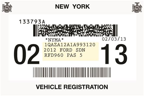 Copy Of Vehicle Registration Ny Photos Print Copy Of