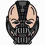 Bane Mask Face Villain Dc Icon Transparent