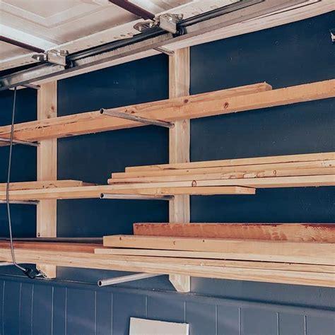 diy wood storage rack  conduit  easy steps