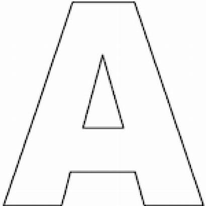 Letter Alphabet Printable Crafts Letters Coloring Pages