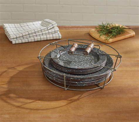 wire plate holder  wood handles park designs