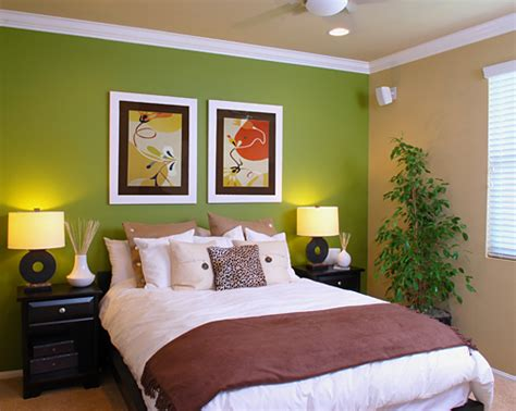 feng shui chambre adulte photos ambiance vert taupe gris ou