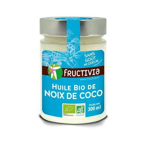 huile de noix de coco cuisine huile de noix de coco bio 300ml