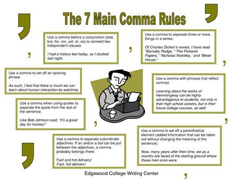 Comma Crisis