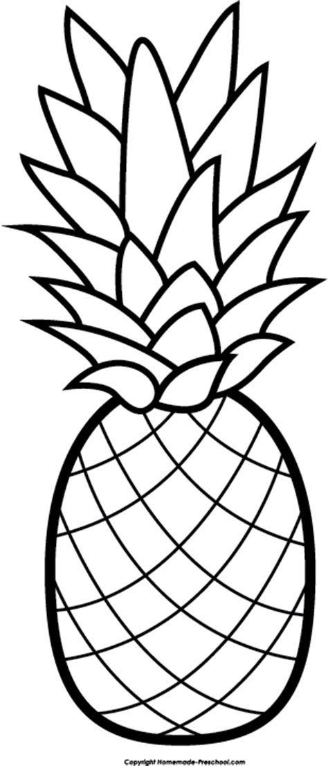 pineapple  fruit clipart image