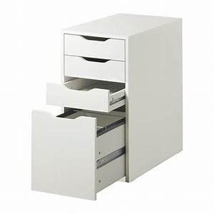 ALEX Caisson Tiroir Classeur Blanc IKEA Dcoration
