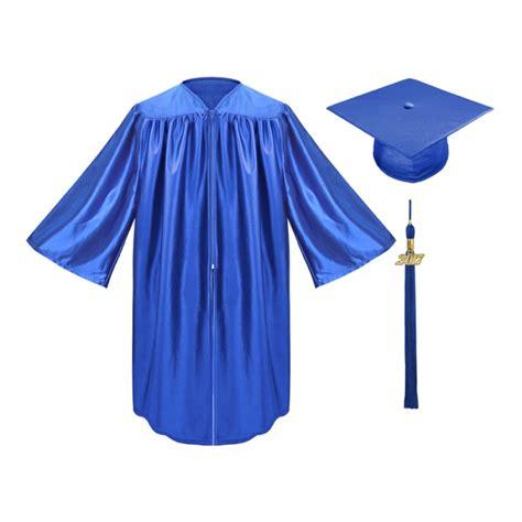 royal blue preschool cap gown amp tassel gradshop 119 | kd sh 022 0