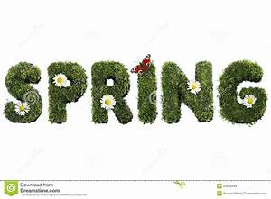 Block Letter Styles Spring Royalty Free Stock Images Image 24090299