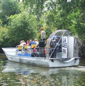 Everglades Propeller Boats by Airboat Sw Tours New Orleans Sw Tours
