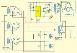 Automatic 3 Phase Induction Motor Starter