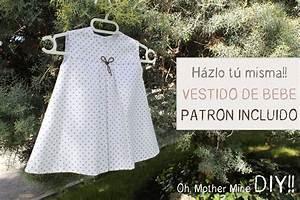 DIY Ropa bebé: Cómo hacer vestido de bebé niña muy fácil ...