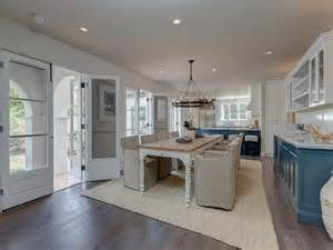 marble topped kitchen island gray washed dining table design decor photos pictures ideas inspiration paint colors and