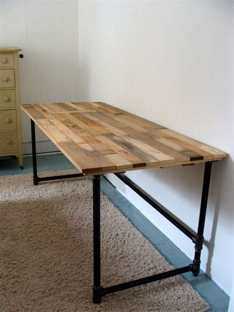 Salvaged Wood And Pipe Desk By Riotousdesign On Etsy $650