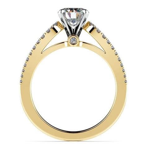 Round Petal Loop Diamond Engagement Ring In Yellow Gold. Medical School Rings. Aquarius Rings. Bestie Rings. Large Cluster Wedding Rings. League Legends Rings. Oklahoma Rings. Wedding Dallas Wedding Rings. Alexandrite Side Stone Engagement Rings