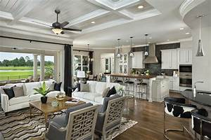 Asheville Model Home Interior Design 1264f - Traditional