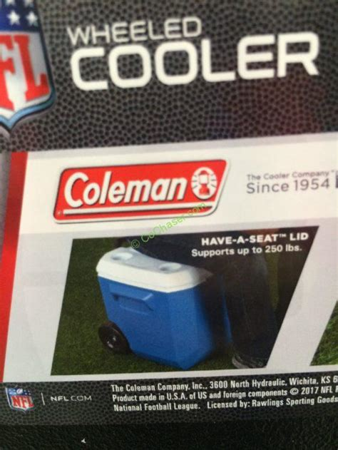 Coleman Inflatable Boat Costco by Costco 969460 Coleman 60 Quart Rolling Cooler Detroit