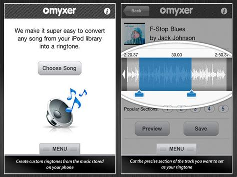 myxer iphone top 15 ringtone apps for iphone top apps