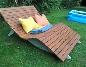 Relaxliege Holz Schablone : relaxliege f r zwei recycling terassenholz garten holz relaxen entspannen selbermachen ~ A.2002-acura-tl-radio.info Haus und Dekorationen
